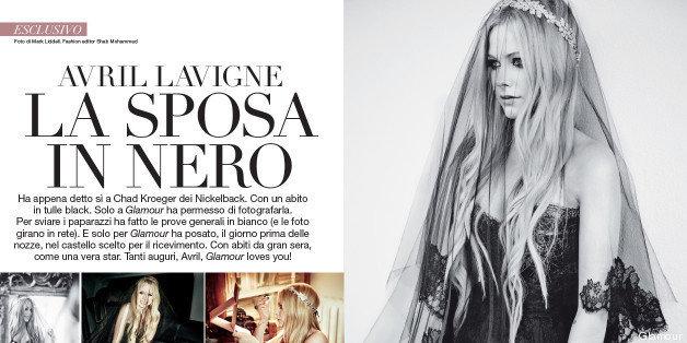Avril Lavigne Matrimonio In Nero : Fiori d arancio di nuovo per avril lavigne aim a trabolmeicher