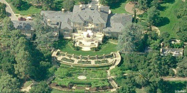 Dove abitano le star ecco le pi belle 110 residenze dei for Arredamenti delle case piu belle