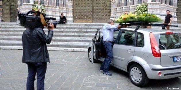 Incidente Genova, il cardinal Bagnasco durante i funerali: