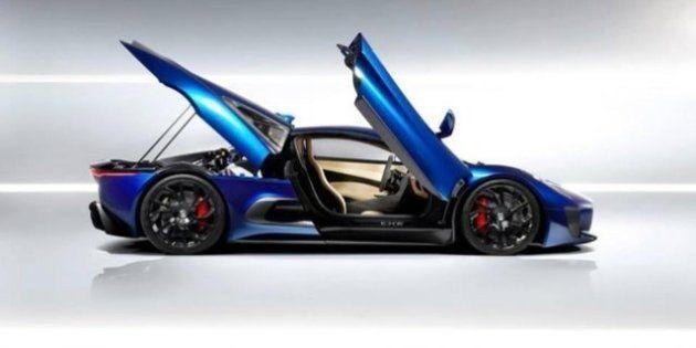 Jaguar C-X75 ecco la macchina del futuro, ma è solo un prototipo