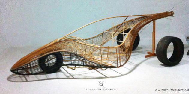 Auto di bambù: Phoenix, l'araba fenice, è la concept car tutta al naturale (FOTO,