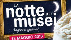 Sabato 18 maggio è la Notte del Musei