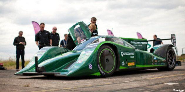 Auto elettrica, lord Dryson stabilisce record di