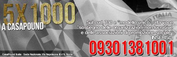 CasaPound, fascisti del 5x1000: il movimento incassa soldi pubblici con l'escamotage delle tartarughe