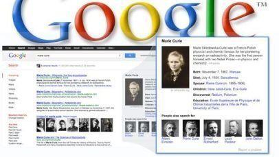 Google cambia la ricerca: knowledge graph modifica la pagina dei risultati (FOTO,