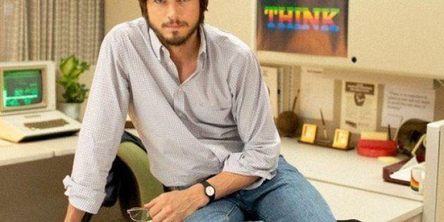 Ashton Kutcher fa Steve Jobs: e copia e originale si