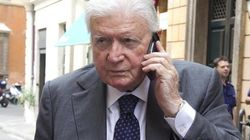 Sergio Zavoli picchiato e rapinato nella sua villa vicino