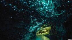 La grotta è un cielo stellato