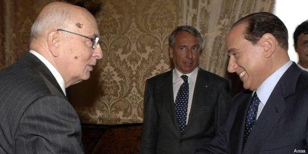 Ineleggibilità, Silvio Berlusconi tentato dalla crisi di governo. Ma il freno si chiama Giorgio Napolitano:...