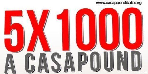 5x1000 a CasaPound: il Ministero dello Sviluppo Economico avvia ispezione straordinaria