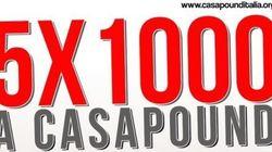 5x1000 a CasaPound: il Ministero dello Sviluppo avvia un'ispezione straordinaria