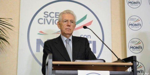 Scelta Civica: Mario Monti presidente: