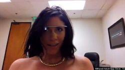 Google glass a luci rosse, arriva il primo porno girato con il