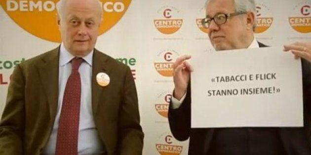Elezioni 2013: Bruno Tabacci e Giovanni Maria Flick un video insieme come la coppia gay: