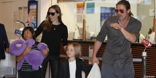 Brad Pitt acquista un jet privato per Angelina Jolie per vedersi più spesso