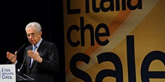 Elezioni 2013: Mario Monti chiude la campagna elettorale a Firenze:
