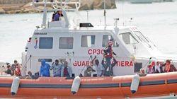 Lampedusa, naufraga barcone di