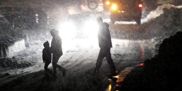 Cortina, la neve porta il blackout. Alfonso Signorini: