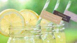 Estate: bevande top e flop. Acqua alla frutta, limonata,