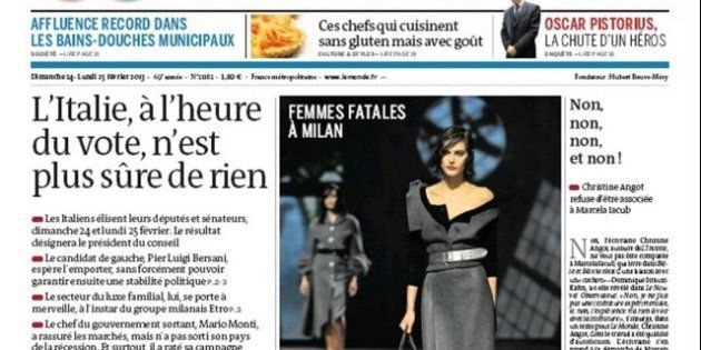 Elezioni 2013, Le Monde: