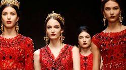 La donna-regina di Dolce & Gabbana