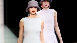 Emporio Armani veste la donna di ombretto