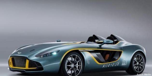 L'Aston Martin festeggia 100 anni con una nuova roadster (FOTO,