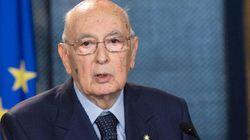 Napolitano incontra la stampa al Quirinale per la cerimonia del Ventaglio (DIRETTA,