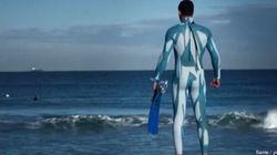 La muta anti-squalo... per surfare tranquilli