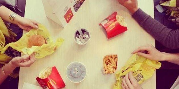 Mc Donald's consiglia ai propri dipendenti di non mangiare i suoi prodotti