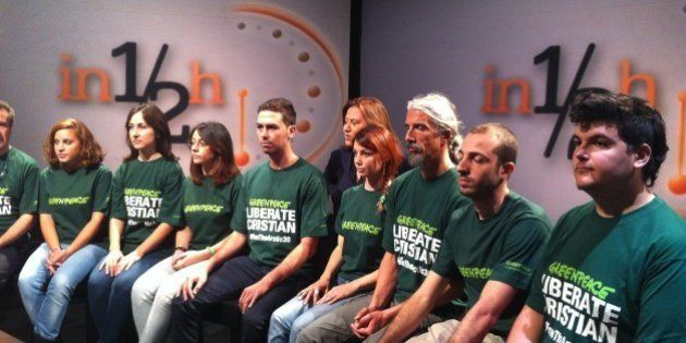 Cristian D'Alessandro, attivista Greenpeace arrestato. I genitori: