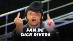 Dick Rivers aimait beaucoup Didier l'embrouille, qu'il avait inspiré à Antoine de