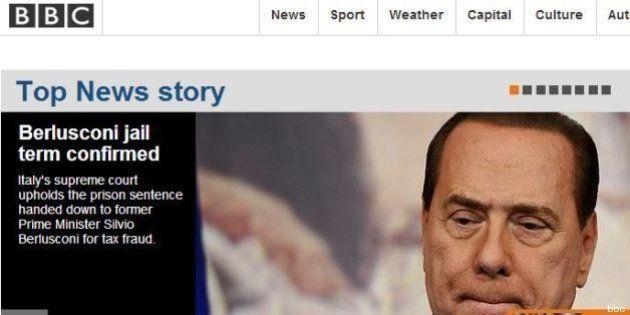 Silvio Berlusconi condannato, sentenza Mediaset: la notizia sui siti internazionali