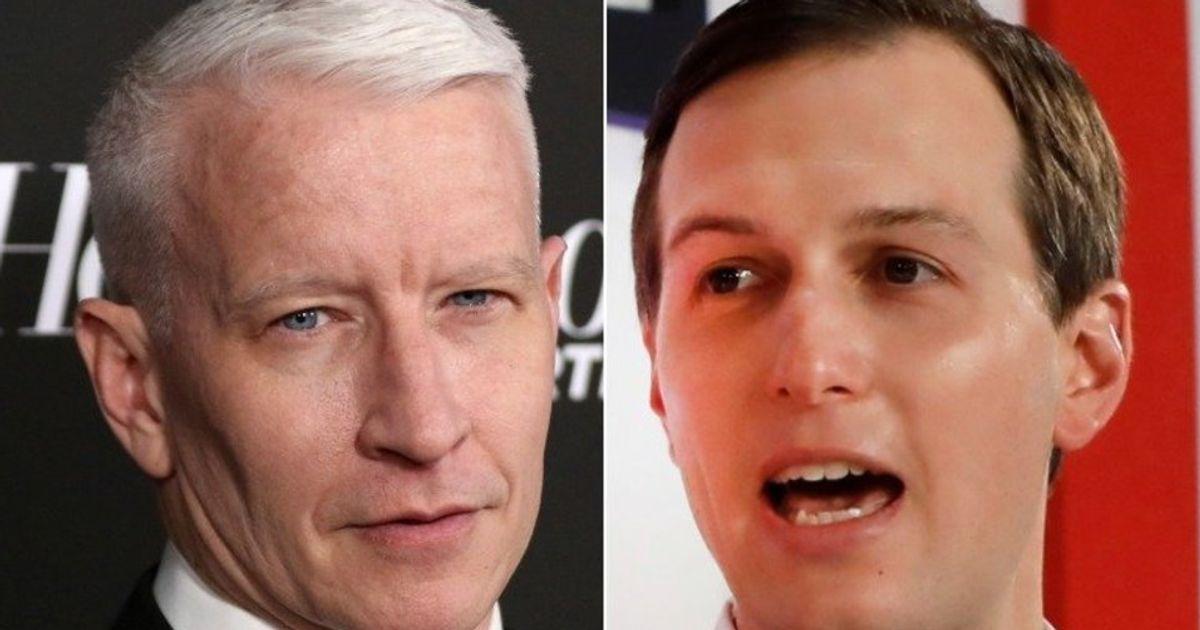 Anderson Cooper Taunts 'Gaslighting' Jared Kushner With Mueller