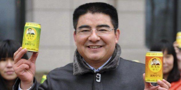 L'eccentrico miliardario cinese re del riciclo Chen Guangbiao vuole comprare il New York