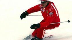 Michael Schumacher caduto per soccorrere una bimba