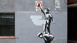 Banksy parla! E si lamenta di New York (FOTO,