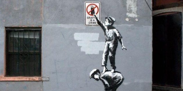 Banksy, intervista a New York.