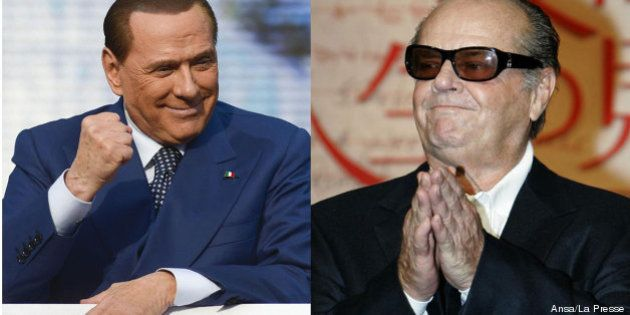 Jack Nicholson in pole per interpretare Silvio Berlusconi in un film documentario sulla vita del Cav
