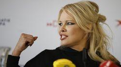 Trop d'argent pour Notre-Dame? Pamela Anderson quitte le gala de la Fondation