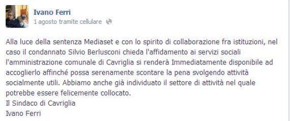 Silvio Berlusconi condannato, Mario Capanna: