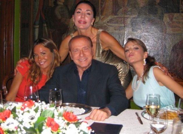 Silvio Berlusconi e Francesca Pascale.