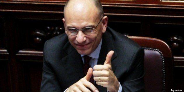 Bankitalia puntella il governo di Enrico Letta: