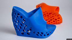 Le prime scarpe in 3d. In 6-7 ore si stampa un paio nuovo di zecca (FOTO,