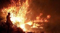 Allarme incendi ad Atene (VIDEO,