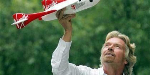 Viaggi nello spazio. Richard Branson manda in orbita i primi turisti nel 2014. Già 769 prenotazioni....
