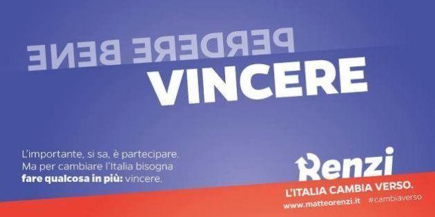 Matteo Renzi, gli slogan della campagna elettorale: