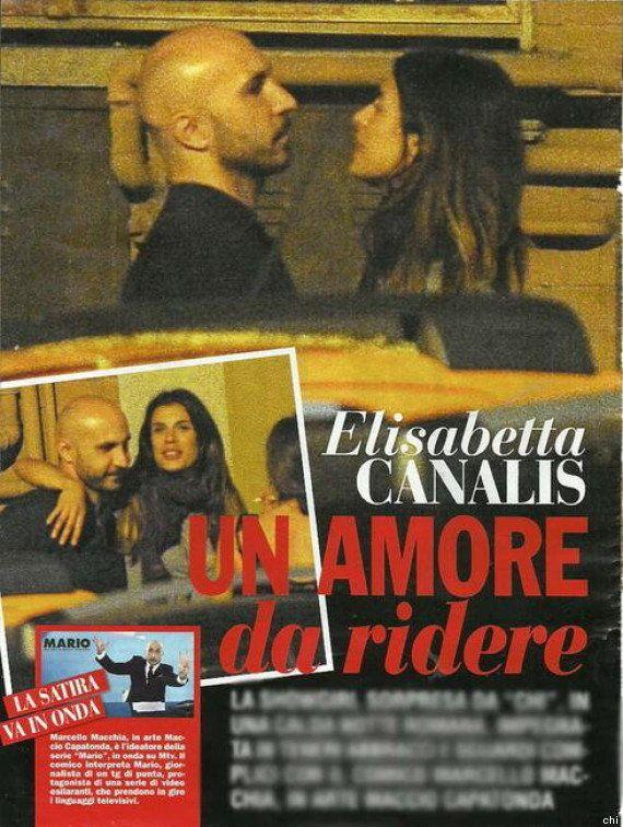 Elisabetta Canalis e Maccio Capatonda insieme: il flirt dell'estate