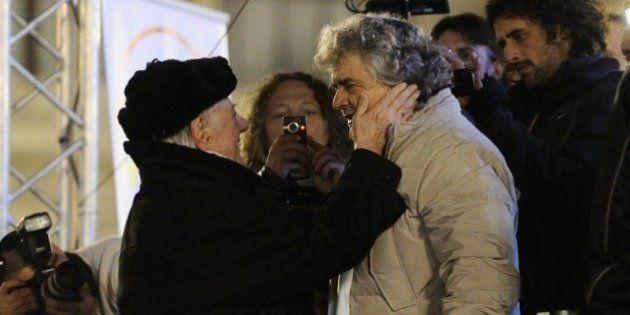 Dario Fo critica Beppe Grillo: