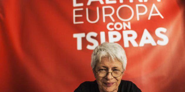 Lista Tsipras, Barbara Spinelli: